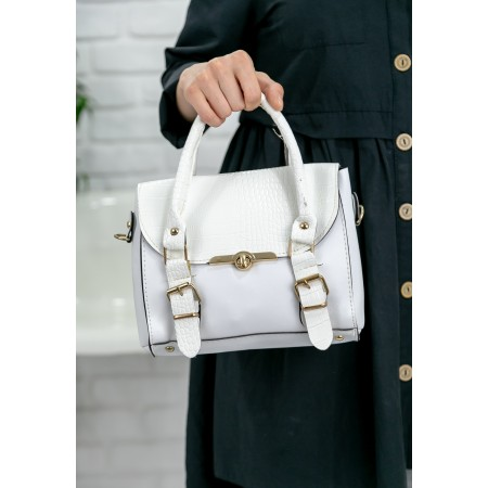 Beyaz Cilt Çanta