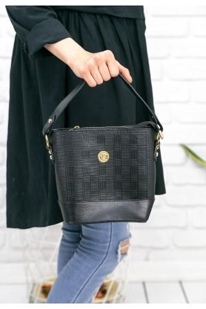 Siyah Desenli Çanta