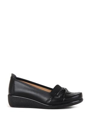 BA - Annamaria 010 Zenne 20/K Cilt Comfort Ayakkabı - Siyah
