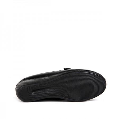 BA - Annamaria 012 Zenne 20/K Cilt Comfort Ayakkabı - Siyah Siyah