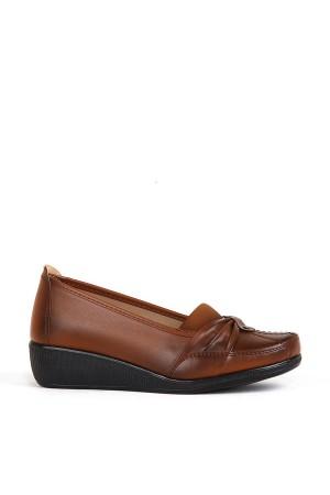 BA - Annamaria 017 Zenne 20/K Cilt Comfort Ayakkabı - Taba