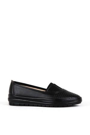 BA - Annamaria 83 (37-41) Zenne 20/K Cilt Comfort Ayakkabı - Siyah