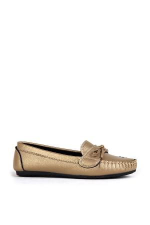 BA - Annamaria Bıyık Zenne 20/K Cilt Casual Ayakkabı - Altın