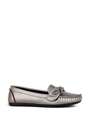 BA - Annamaria Bıyık Zenne 20/K Cilt Casual Ayakkabı - Platin