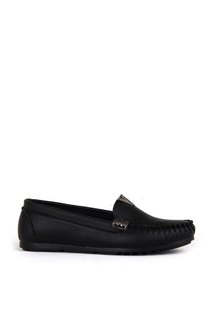 BA - Annamaria R-13 Zenne 20/K Cilt Casual Ayakkabı - Siyah