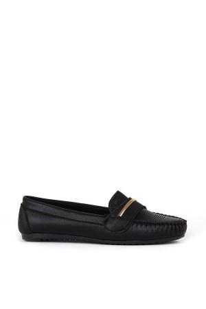 BA - Annamaria Tel Zenne 20/K Cilt Casual Ayakkabı - Siyah