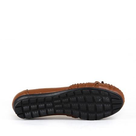 BA - Annamaria V-09(40-42) Zenne 19/Y Cilt Comfort Ayakkabı - Taba