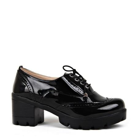 BA - Badis 601(37-40) Zenne Rugan Casual Ayakkabı - Siyah