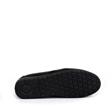 BA - Estelle 133 Zenne 20/K Cilt Comfort Ayakkabı - Siyah