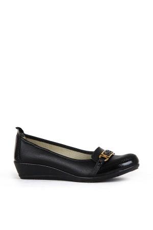 BA - Özat 303(37-41) Zenne 20/K Cilt Comfort Ayakkabı - Siyah