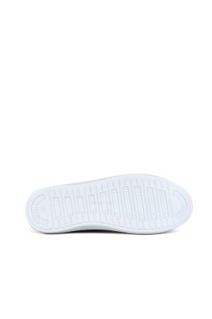 BA - Savista 01 Zenne 20/K Cilt Casual Ayakkabı - Siyah Beyaz