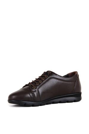 BA - Wonder 40882 Zenne 20/K Deri Comfort Ayakkabı (10'lu) - Kahve