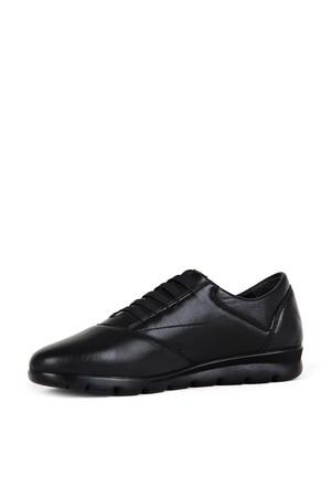 BA - Wonder 40890 Zenne 20/K Deri Comfort Ayakkabı (10'lu) - Siyah