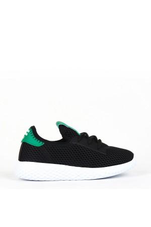 ÇA - Cosby 034 Patik 20/Y Aqua Spor - Siyah - Yeşil