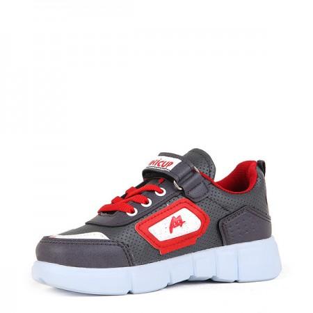 ÇA - Minicup 101 Filet 20/K Cilt Spor Ayakkabı - Füme Kırmızı