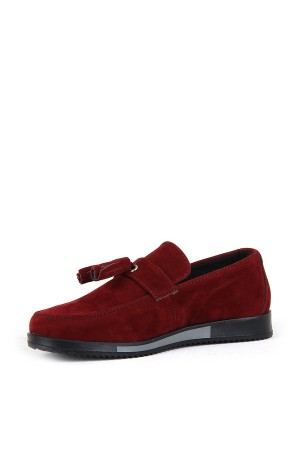 ÇA - Scooby 2146 Filet Süet Casual Ayakkabı - Bordo