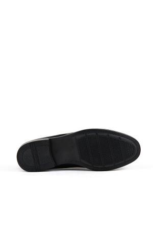 KND - Darkking 10 Baskılı Erkek Rugan Casual Ayakkabı - Siyah