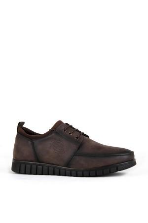KND - Darkking 505 Bağlı Erkek 20/K Cilt Casual Ayakkabı - Kahve
