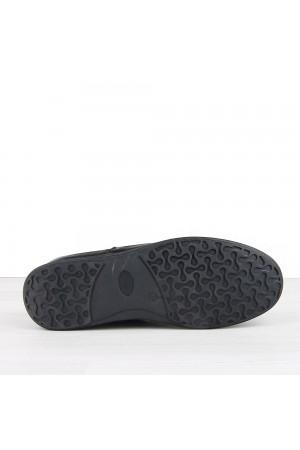 KND - Emesto 314 Erkek Deri Casual Ayakkabı - Siyah