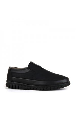 KND - Fonzo A-200 Erkek 20/K Cilt Comfort Ayakkabı - Siyah