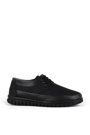 KND - Fonzo A-203 Erkek 20/K Cilt Comfort Ayakkabı - Siyah