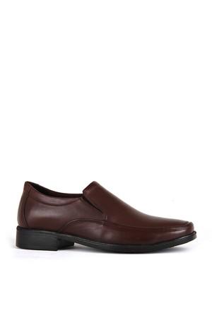 KND - Frank Peter 410 Erkek 20/K Deri Comfort Ayakkabı - Kahve