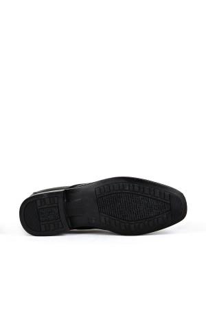 KND - Frank Peter 410 Erkek 20/K Deri Comfort Ayakkabı - Siyah