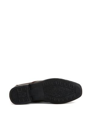 KND - Frank Peter 420 Erkek 20/K Deri Comfort Ayakkabı - Kahve