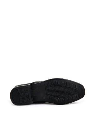 KND - Frank Peter 420 Erkek 20/K Deri Comfort Ayakkabı - Siyah