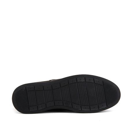 KND - Frank Peter E-313 Merdane 20/K Deri Comfort Ayakkabı - Kahve