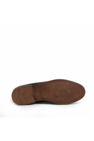 KND - Frank Peter P-02 Erkek Deri Casual Ayakkabı - Siyah