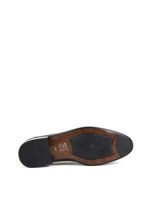 KND - Frank Peter P-160 Erkek Deri Casual Ayakkabı - Siyah