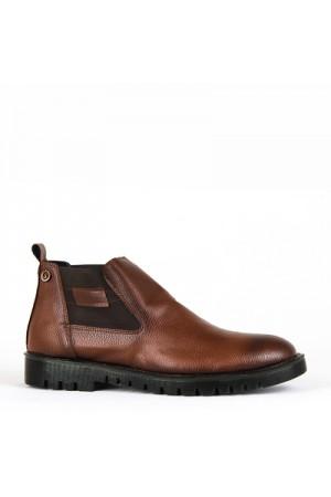 KND - Sümer 300 Erkek Cilt Casual Ayakkabı - Taba