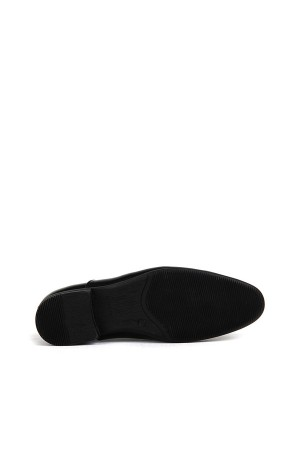 KND - Tamboğa 3008 Erkek 20/K-Y Rugan Klasik Ayakkabı (10'lu) - Siyah