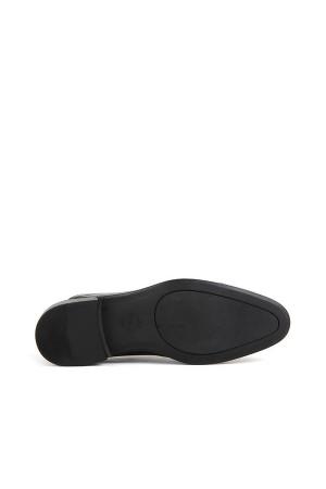 KND - Tamboğa 503 Erkek 20/K-Y Rugan-Cilt Klasik Ayakkabı (10'lu) - Siyah