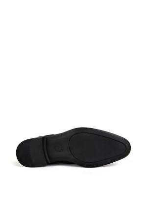 KND - Tamboğa 562 Erkek 20/K-Y Rugan Klasik Ayakkabı (10'lu) - Siyah