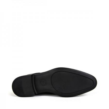 KND - Tamboğa 566 Erkek 20/K-Y Rugan Klasik Ayakkabı (10'lu) - Siyah