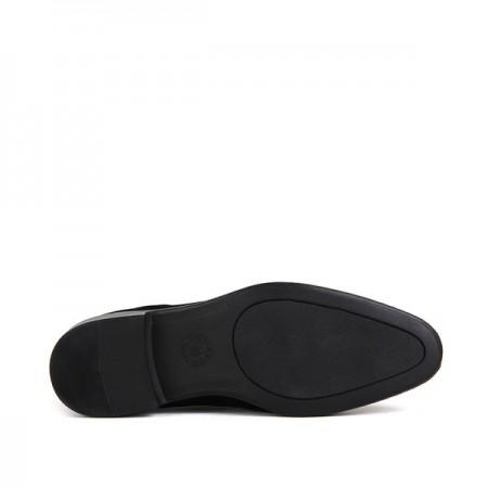 KND - Tamboğa 570 Erkek 20/K-Y Süet Klasik Ayakkabı (10'lu) - Siyah