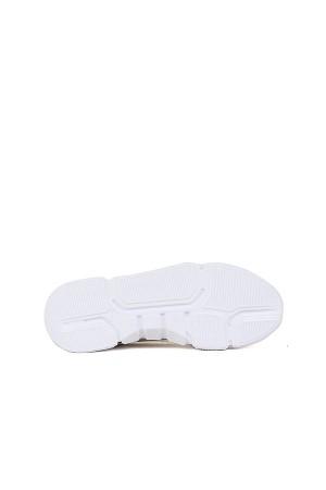 SA - Atlanta 061 Merdane 20/K Deri Tozu Spor Ayakkabı - Buz Beyaz