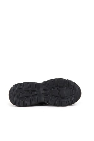 SA - Racing 375 Garson 20/K Cilt Spor Ayakkabı - Siyah Siyah