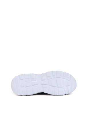 SA - Racing 375 Merdane 20/K Cilt Spor Ayakkabı - Siyah Beyaz