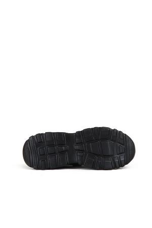 SA - Racing 375 Merdane 20/K Cilt Spor Ayakkabı - Siyah Siyah